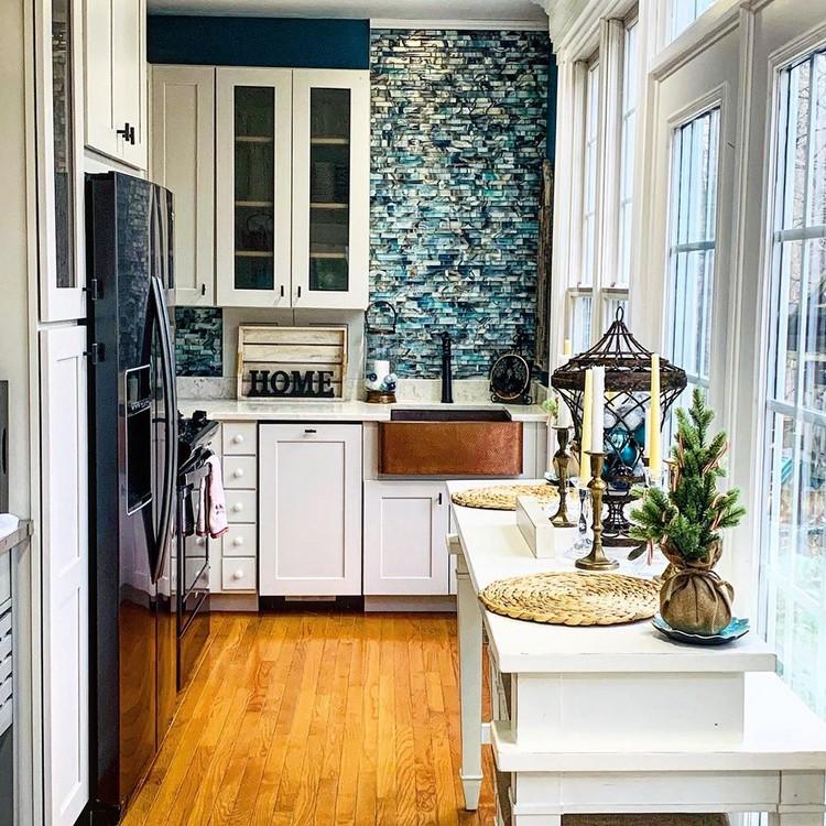Bohemian Kitchen Decor (15)