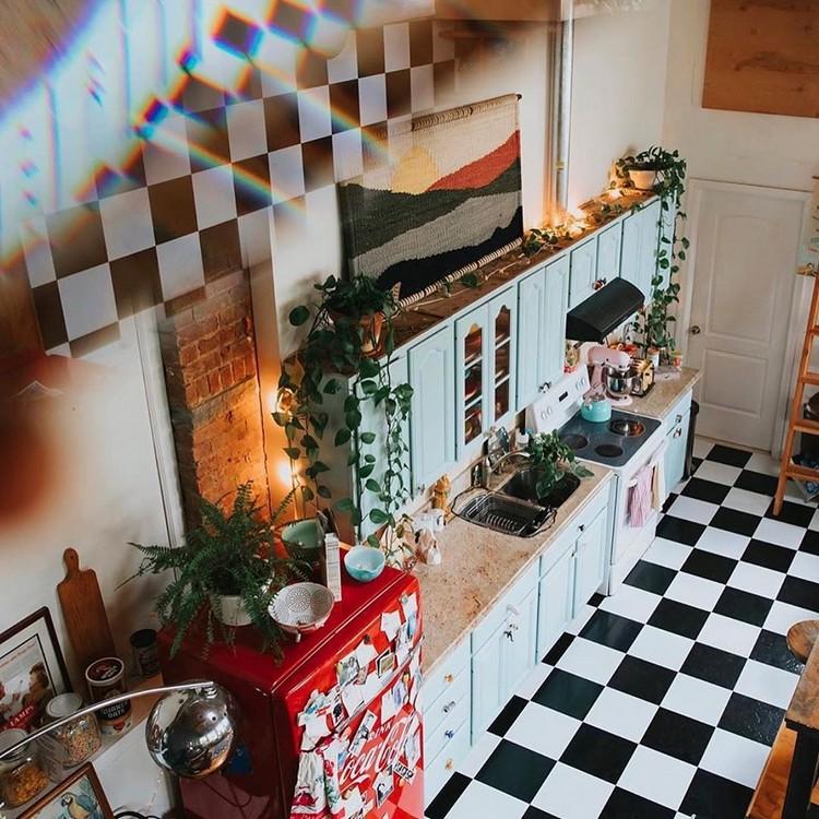 Bohemian Kitchen Decor (16)