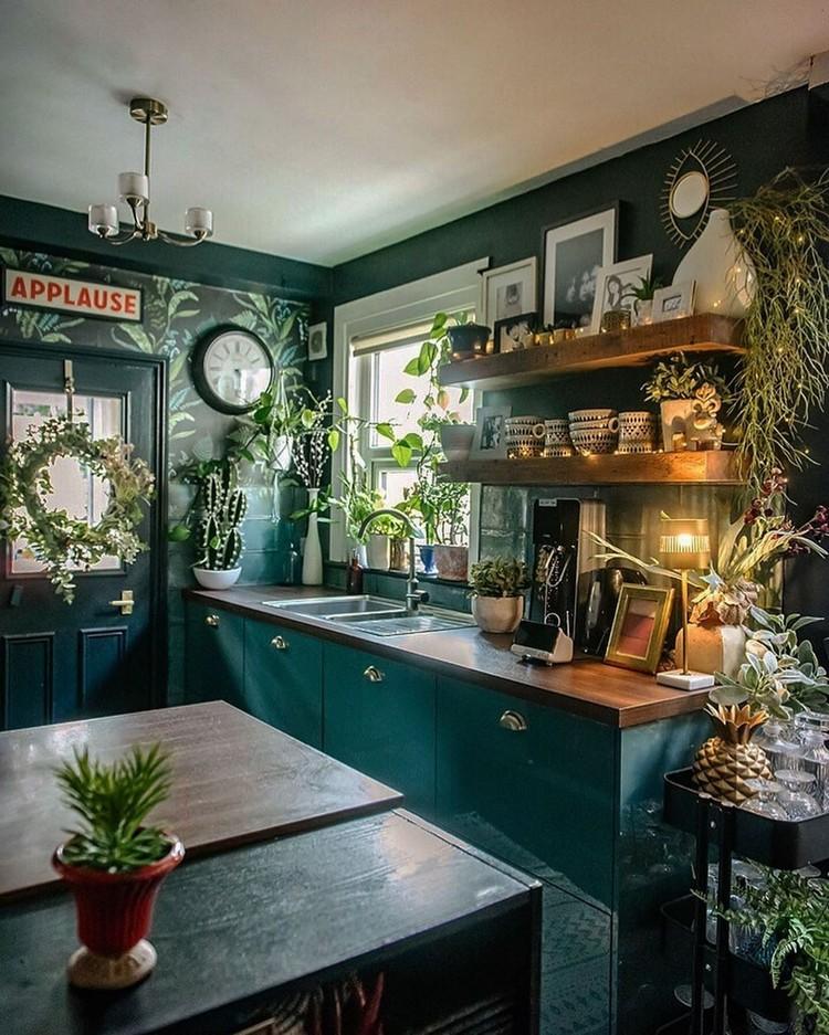 Bohemian Kitchen Decor (2)