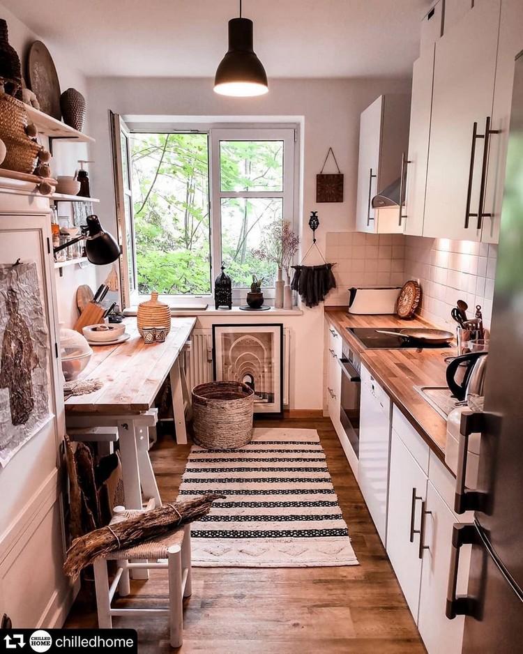 Bohemian Kitchen Decor (6)