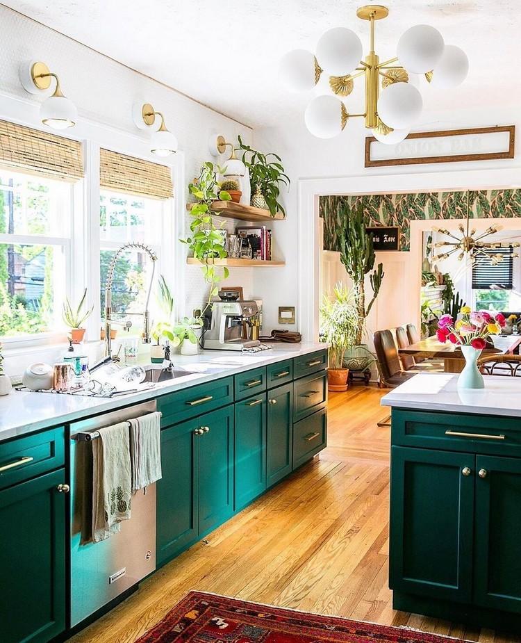 Bohemian Kitchen Decor (9)