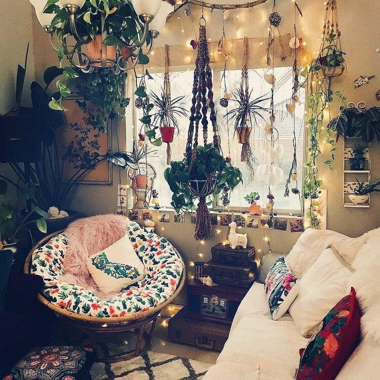 Bohemian Style Home Interior Decor (13)