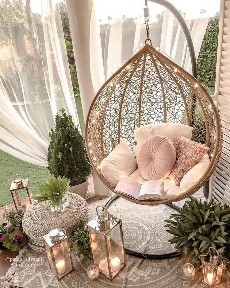 Bohemian Style Home Interior Decor (26)