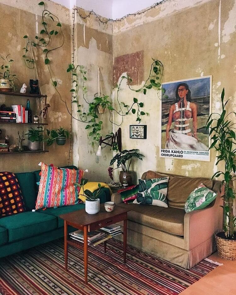 Bohemian Style Home Interior Decor (7)