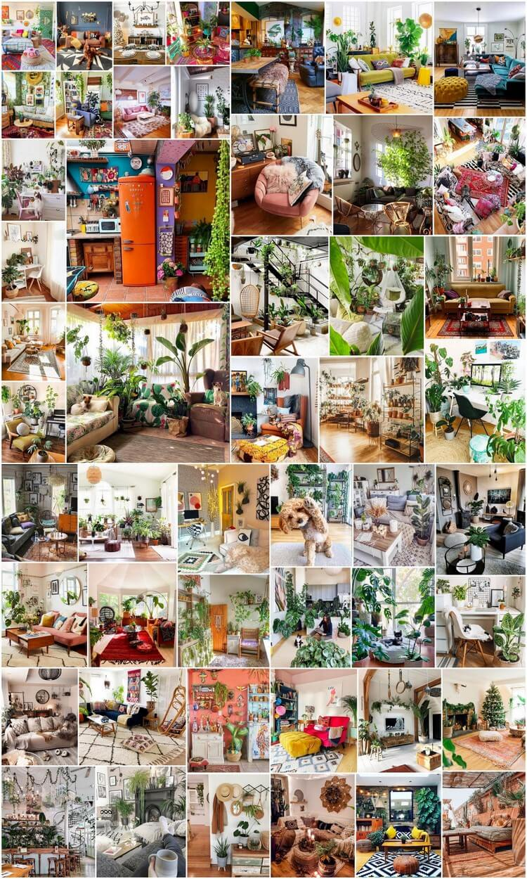 Bohemian Style Ideas for Interior Designs and Decor
