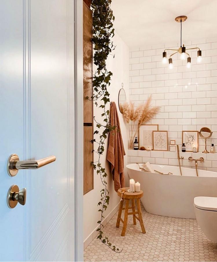 Modern Style Bohemian Interior Design (21)