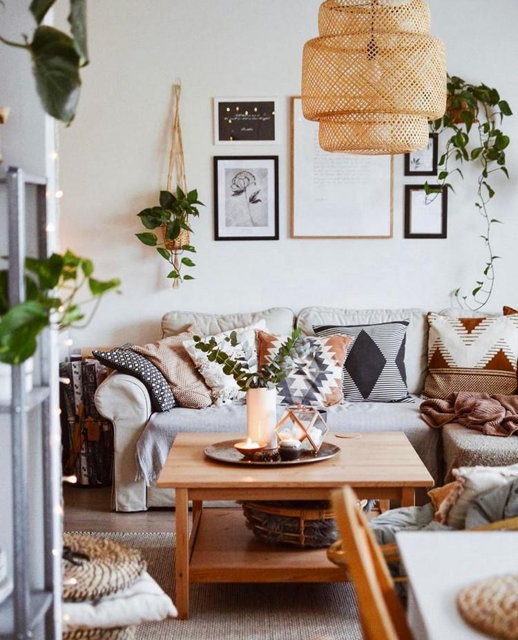 Modern Style Bohemian Interior Design (5)