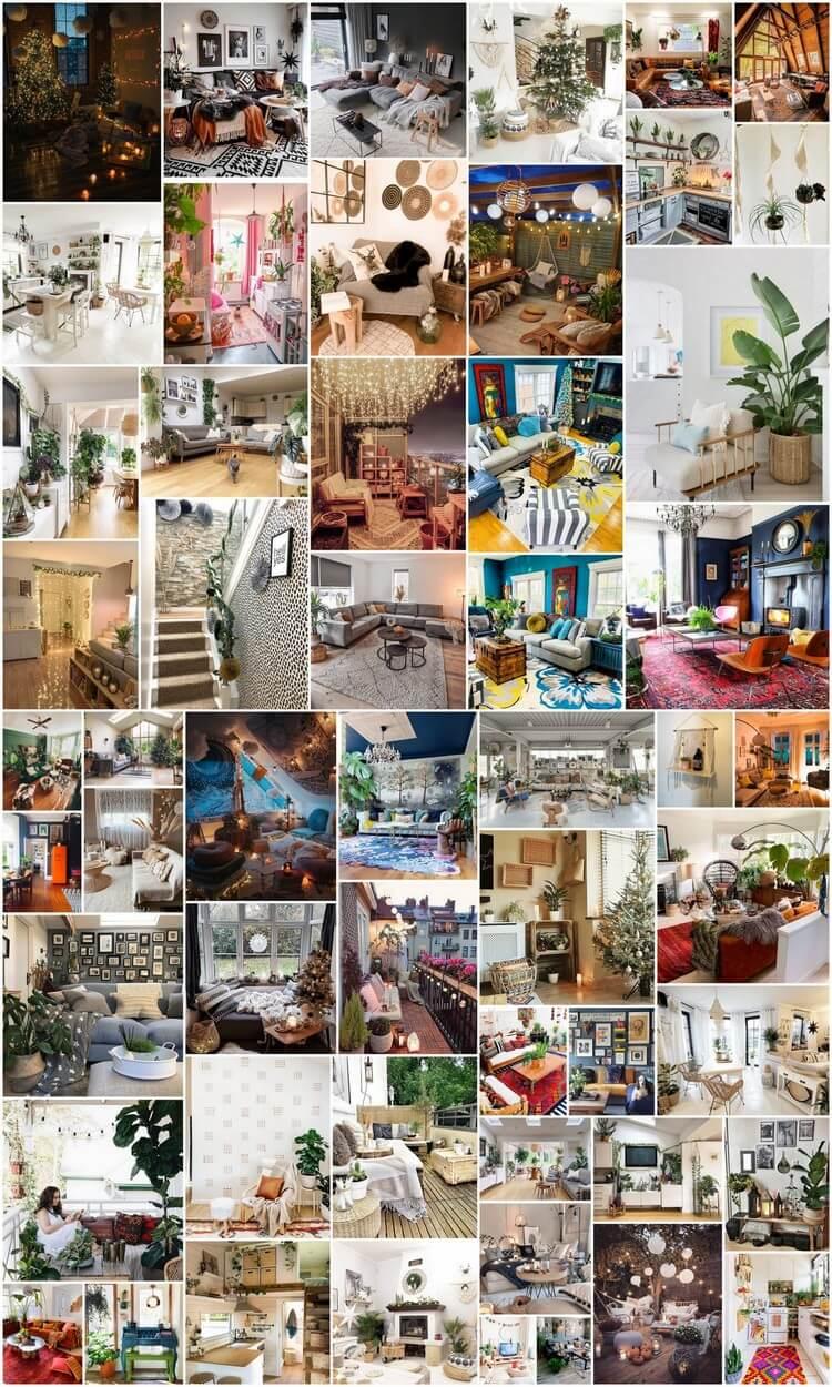 50+ Fantastic Bohemian Interior Decor Designs