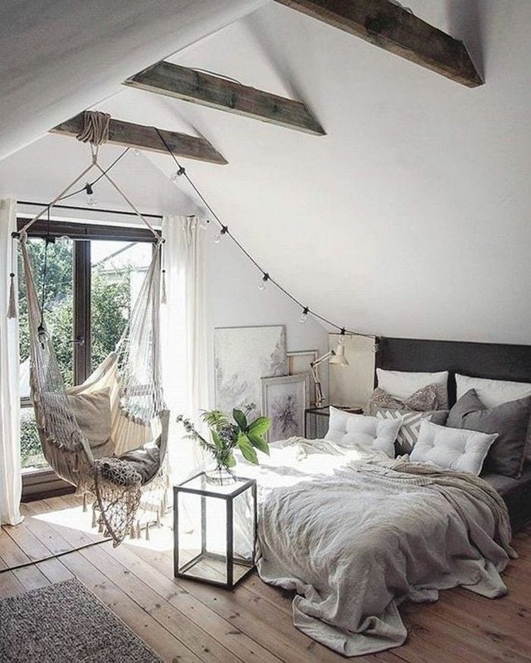 Bohemian Style Beautiful Bedroom Design (2)