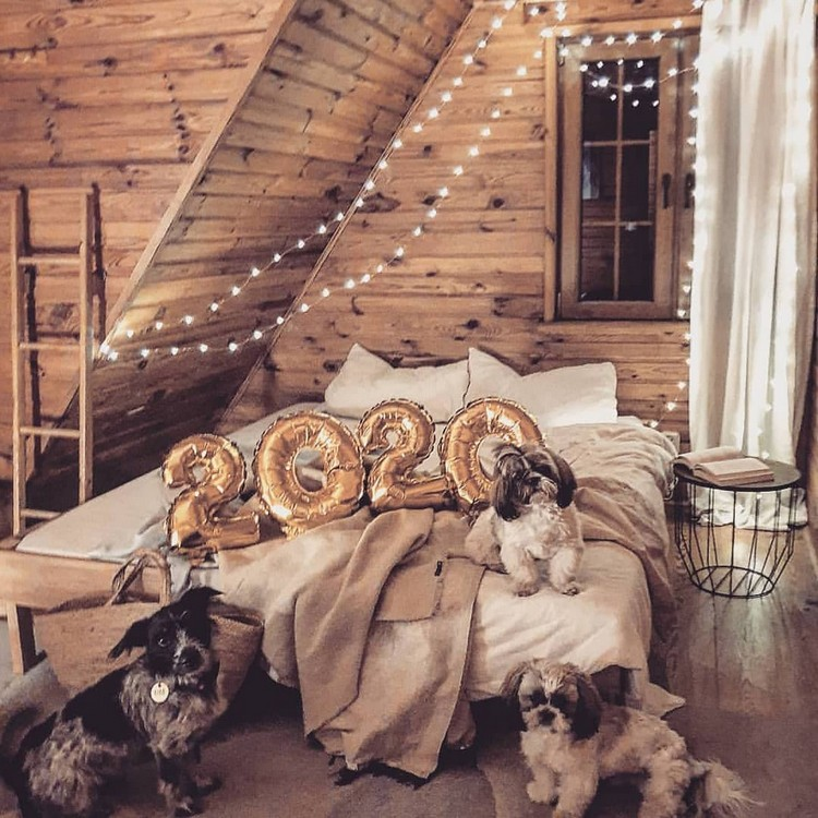Bohemian Style Beautiful Bedroom Design (8)
