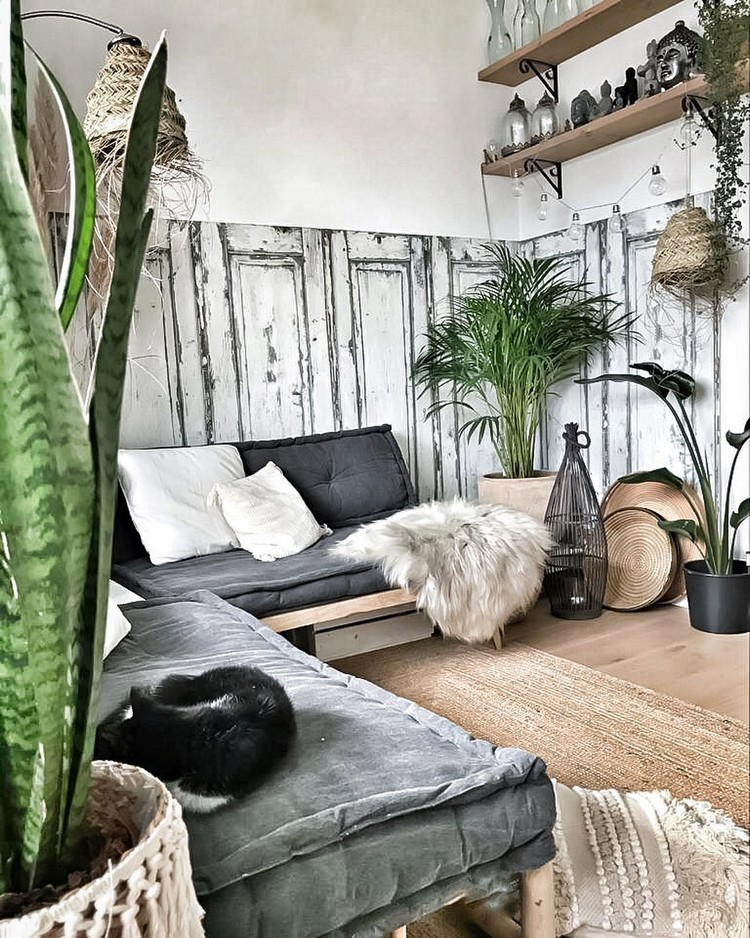 Creative Bohemian Home Decor Design (12)