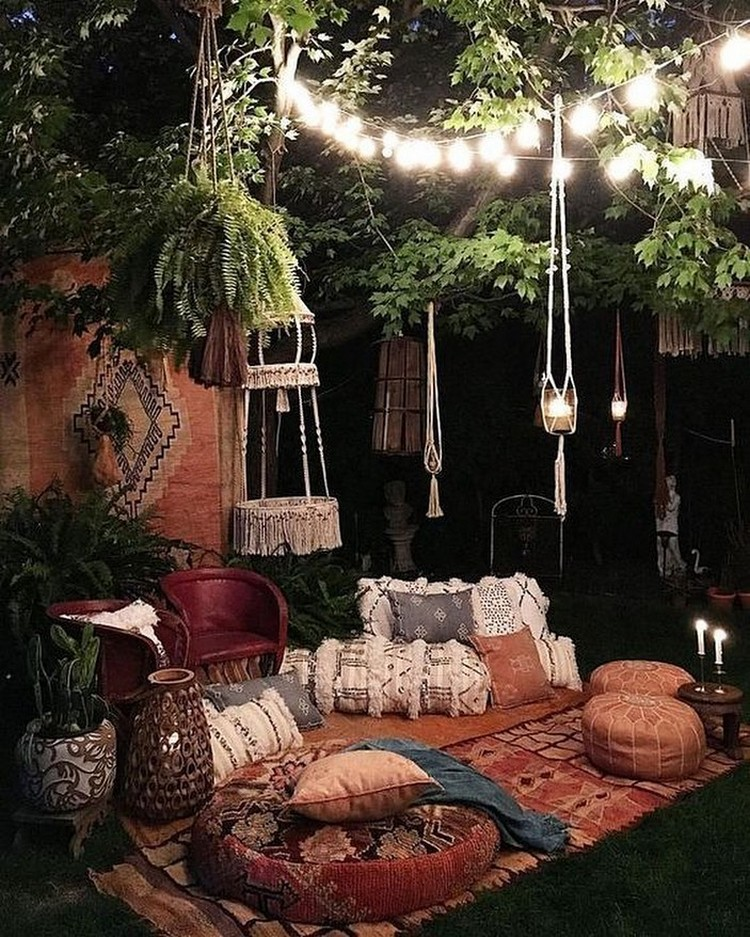 Creative Bohemian Home Decor Design (27)