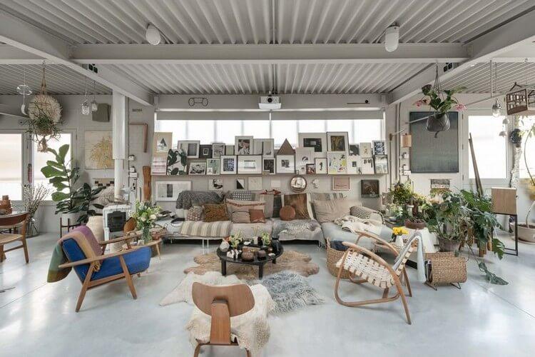Fantastic Bohemian Interior Decor Design (17)