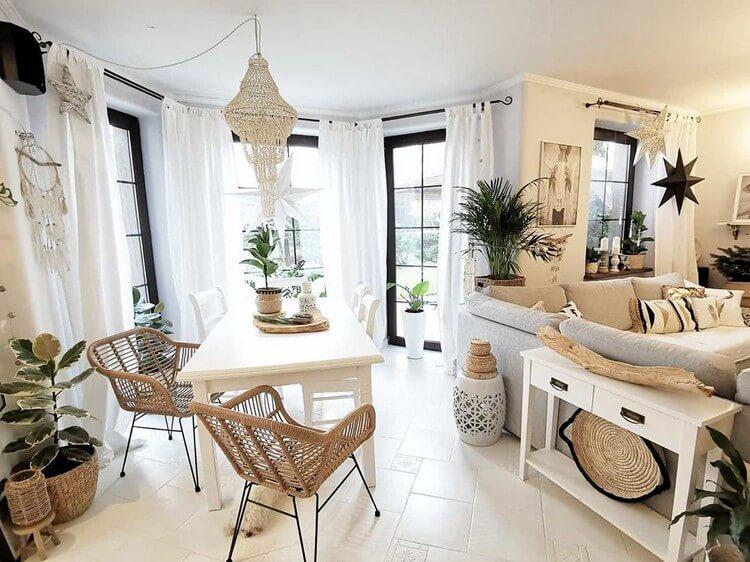 Fantastic Bohemian Interior Decor Design (26)