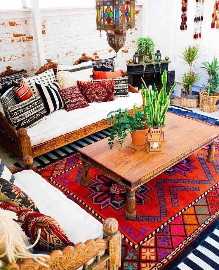 Fantastic Bohemian Interior Decor Design (30)