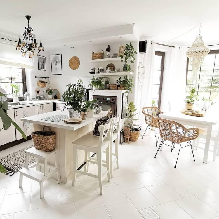 Fantastic Bohemian Interior Decor Design (31)