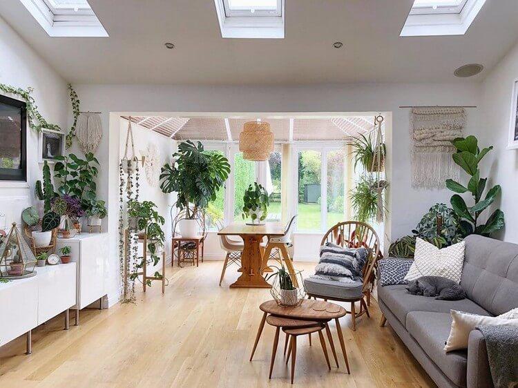 Fantastic Bohemian Interior Decor Design (39)