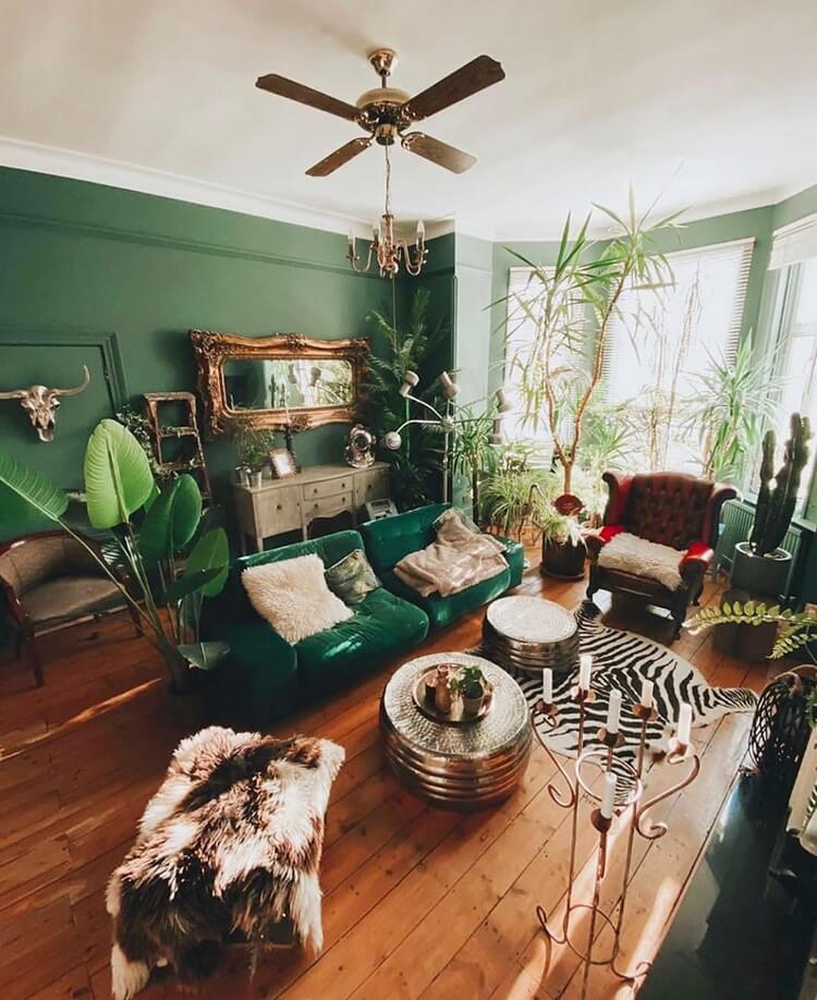Fantastic Bohemian Interior Decor Design (4)