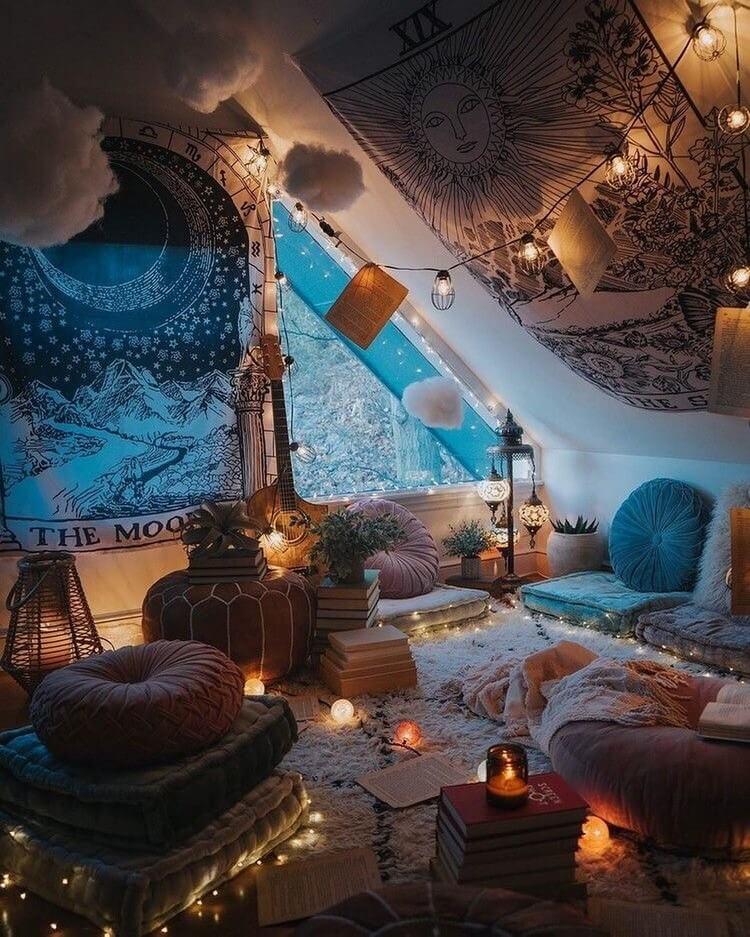 Fantastic Bohemian Interior Decor Design (40)