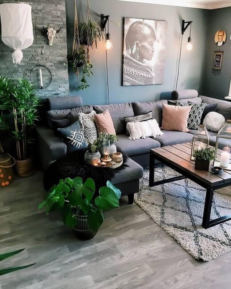 Fantastic Bohemian Interior Decor Design (41)