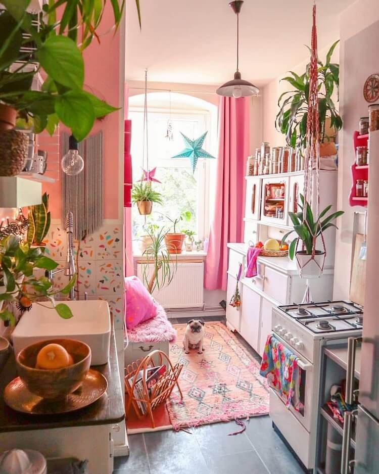 Fantastic Bohemian Interior Decor Design (47)
