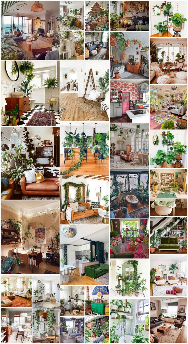 35+ Attractive Bohemian Home Interior Design Ideas