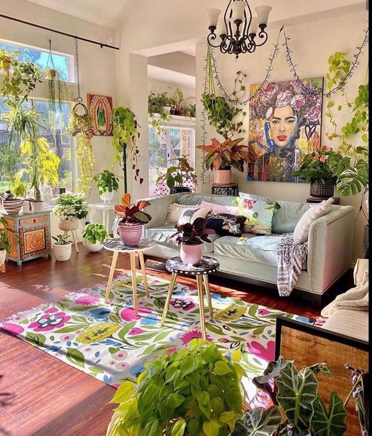 Attractive Bohemian Home Interior Design (13)