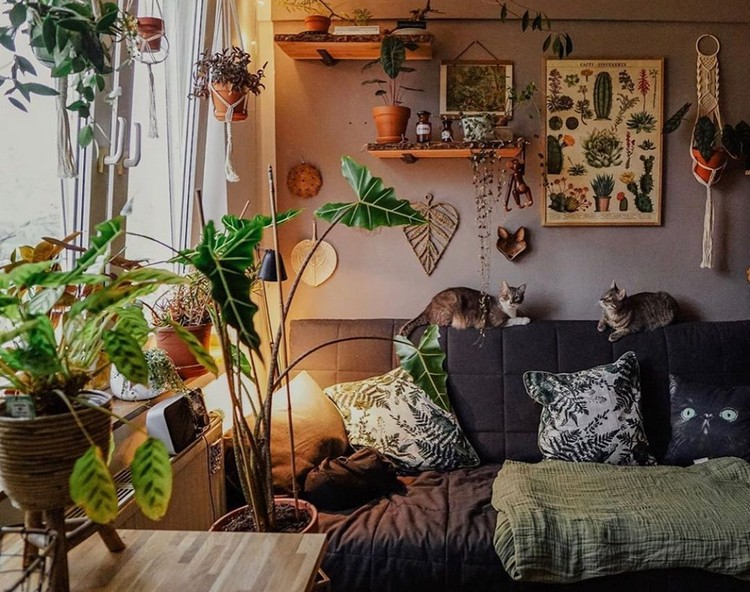 Attractive Bohemian Home Interior Design (19)