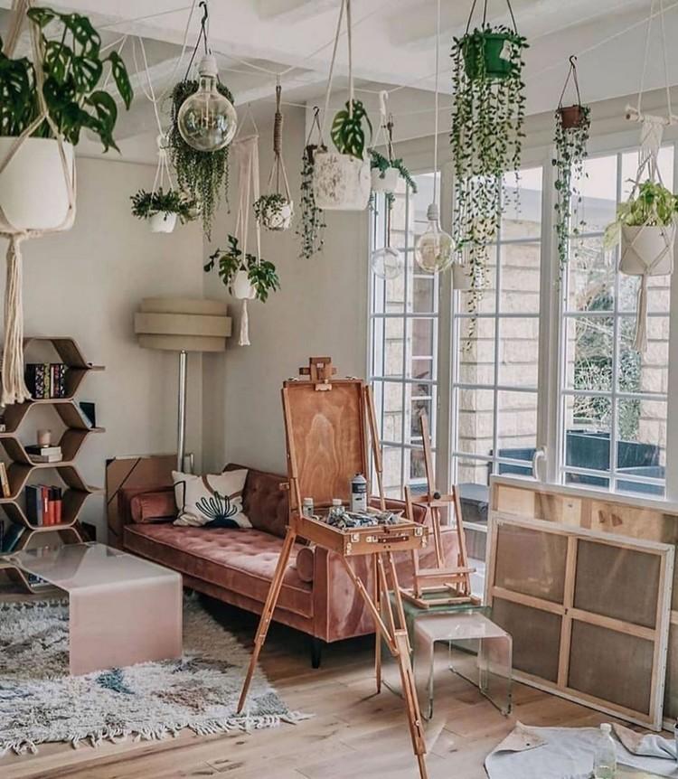 Attractive Bohemian Home Interior Design (21)