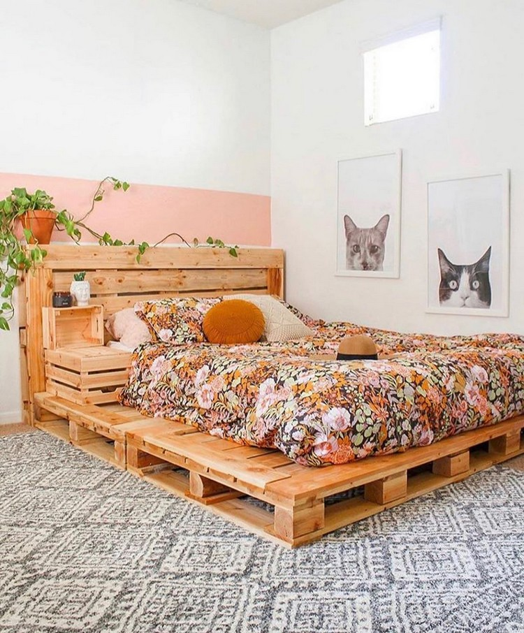 Enchanting Bohemian Bedroom Decor (13)