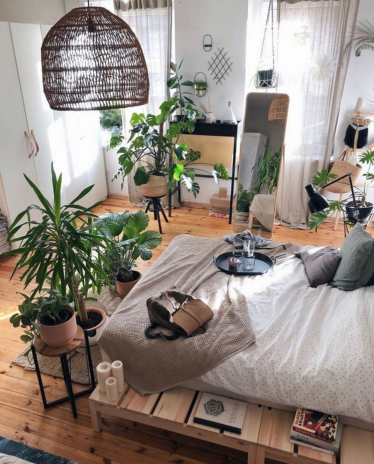 Enchanting Bohemian Bedroom Decor (26)