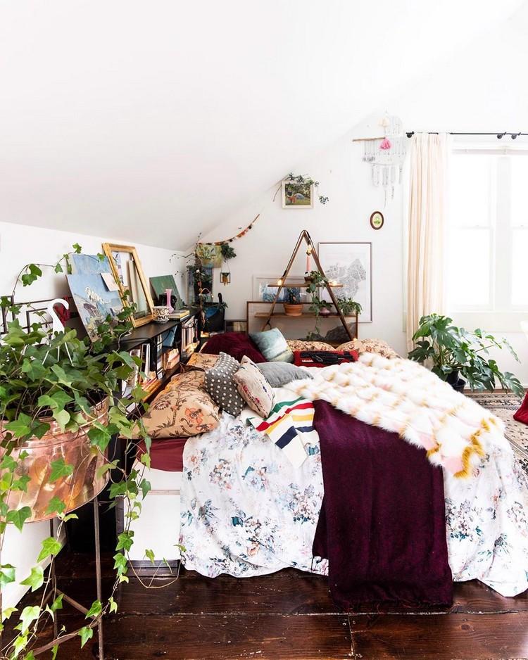 Enchanting Bohemian Bedroom Decor (8)